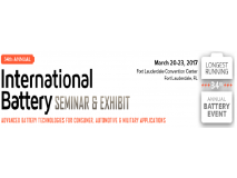 Highpower International to Attend the 34th International Battery Seminar & Exhibit
